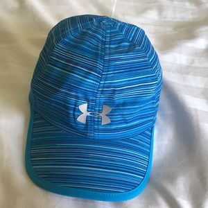 Under Armour Blue Striped Hat